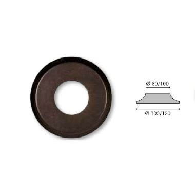 GI GAMBARELLI COPPIA ROSETTE FORATE NOCE DIAMETRO 80MM (Conf. da 2 Pz.) product photo Photo 01 3XL