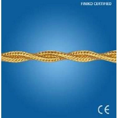 GI GAMBARELLI CAVO TRECCIA SETA 2X1,5MM ORO (Conf. da 100 Mt.) product photo Photo 02 3XL