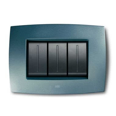 Placca Smart Tecnopolimero 6M, blu atlantico product photo Photo 01 3XL