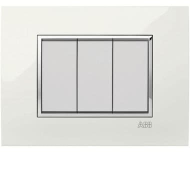 Placca Square Lucent bianco alabastro 3M product photo Photo 01 3XL