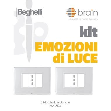 KIT BRAIN EMOZIONI DI LUCE CON 2 PLACCHE product photo Photo 01 3XL