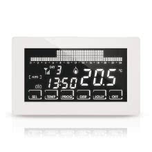 Cronotermostato settimanale WIFI ultrapiatto touch-screen incasso 230V bianco product photo