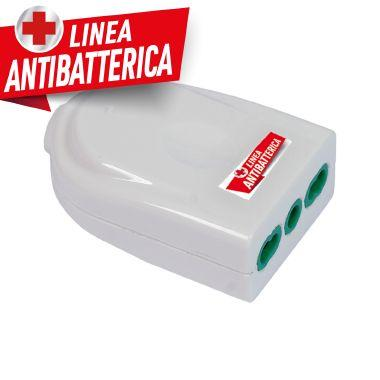 Presa P17/11 smontabile Easy bianca linea antibatterica product photo Photo 01 3XL