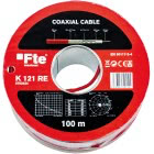 FTE CAVO COASSIALE PVC 5MM CLASSE A ROSSO (Conf. da 100 Mt.) product photo
