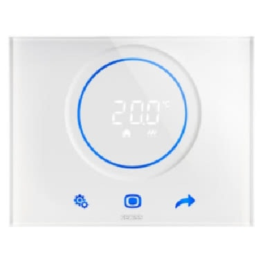 TERMOSTATO THERMO ICE -WI-FI - PLACCA BIANCA - BIANCO - CHORUS product photo Photo 01 3XL