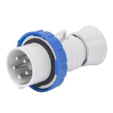 SPINA MOBILE DIRITTA HP - IP66/IP67/IP68/IP69 - 2P+T 16A 200-250V 50/60HZ - BLU - 6H - CABLAGGIO RAPIDO product photo Photo 01 3XL