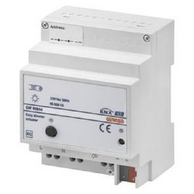 ATTUATORE DIMMER EASY - RESISTIVO-INDUTTIVO - DA GUIDA DIN - 40-500W - 4 MODULI DIN product photo Photo 01 3XL