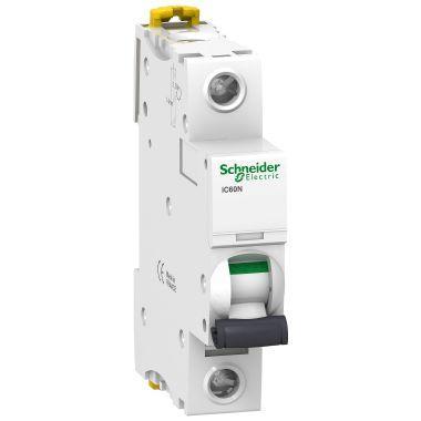 Interruttore di protezione per cavi iC60N Schneider A9F03110 B Caratteristica 10A 1P