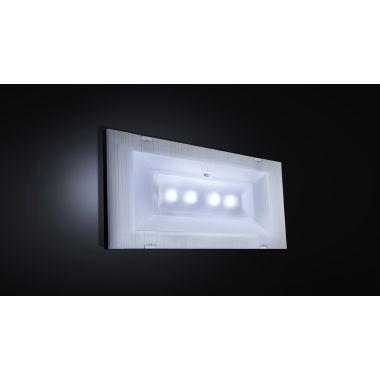 Lampada di emergenza Led Exiway Easyled IP42 11W 170lm 1h product photo Photo 03 3XL
